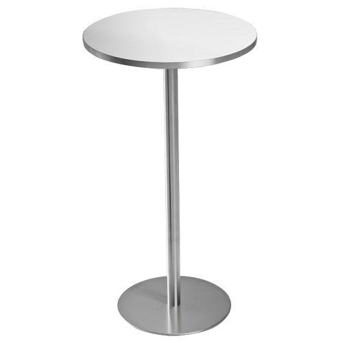 table mange debout contemporaine en metal ronde professionnelle