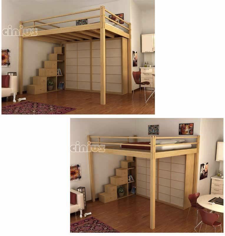 Gallery Of Letto Matrimoniale Soppalco Container Aperto