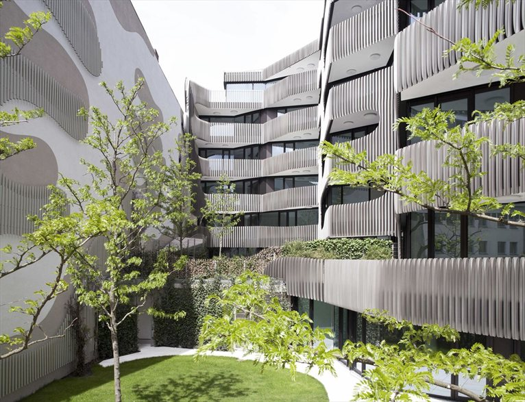 Sculptural Envelope For The New Residential Office