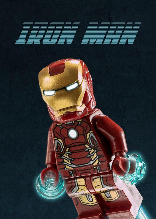 iron man poster lego lego prints