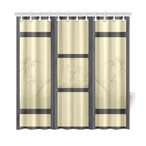 tatami bamboo shower curtain 72 x72 id d1177482