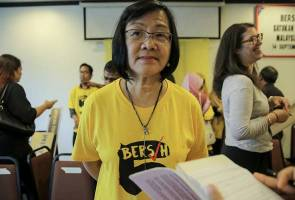Image result for Bersih 2.0 chairman Maria Chin