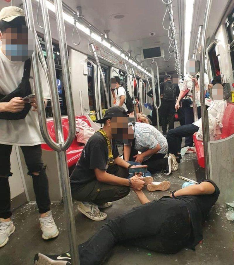 Kemalangan LRT berhampiran Stesen KLCC.