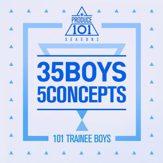 韓綜 ▌Mnet:PRODUCE 101  第二季 프로듀스 101 시즌 2 / 主題評價 콘셉트평가 170602 <EP9>