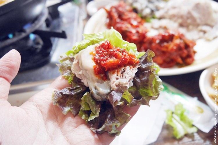 韓國 ▌首爾食記:鐘路三街(130) 蚵仔豬肉一條街 흥부가  點餐送你辣雞湯or 馬鈴薯湯