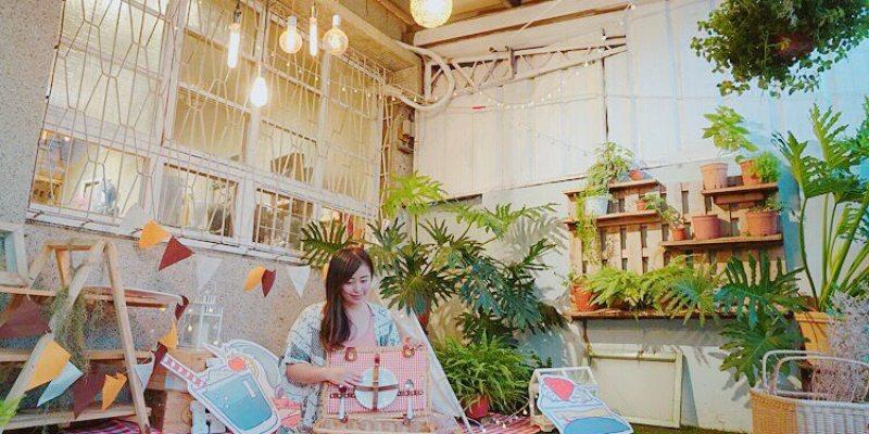 台中 ▌乾燥花咖啡廳 蒔嚐しばしば  手作甜點 輕食 野餐風格超好拍 有特色手作&金工課
