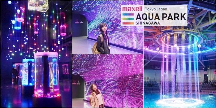 日本 ▌東京旅行:Aqua Park Shinagawa 東京品川水族館 結合聲光特效的海豚表演