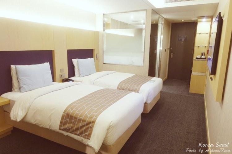 韓國 ▌首爾住宿推薦:第一明洞酒店a FIRST Hotel 乙支路口站步行5分鐘 明洞商圈旁