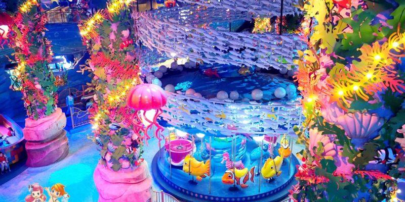韓國首爾 ▌舊把撥站(320):樂天世界 海底王國 交通.門票.遊玩全攻略《加小菲專欄》