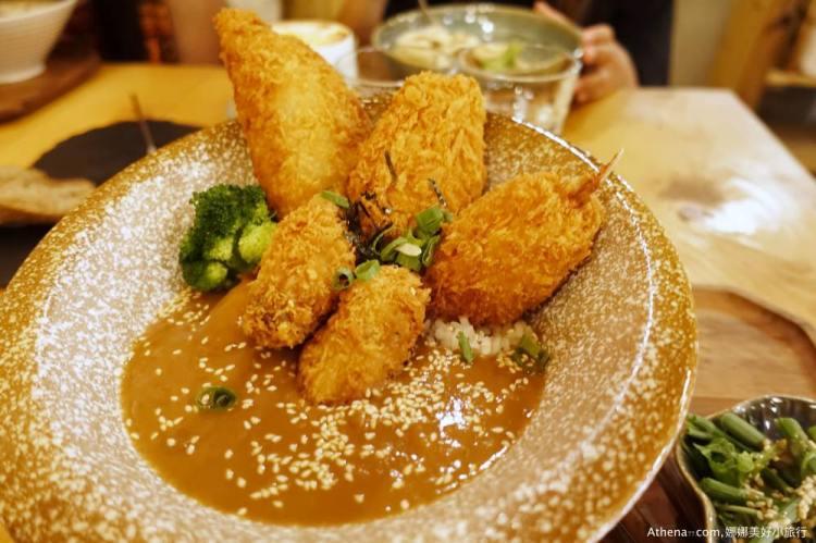 墾丁食記 ▌恆春鎮上 花時找食 日式咖哩 海鮮丼飯 店員有趣親切 戶外環境很可愛