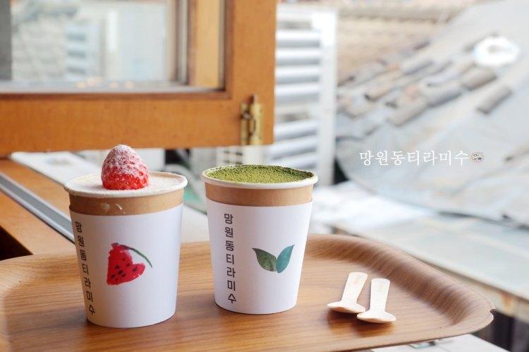 韓國首爾 ▌鍾路三街站:益善洞文青風甜點咖啡廳 望遠洞提拉米蘇 益善洞店망원동티라미수《加小菲專欄》