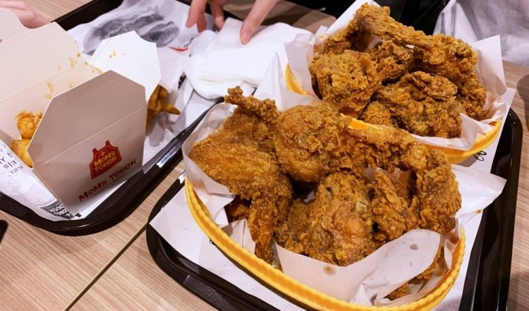 台北食記 ▌MoM's TOUCH 台北師大店・炸雞套餐  年糕雞塊 #菜單《IPHONE食記》