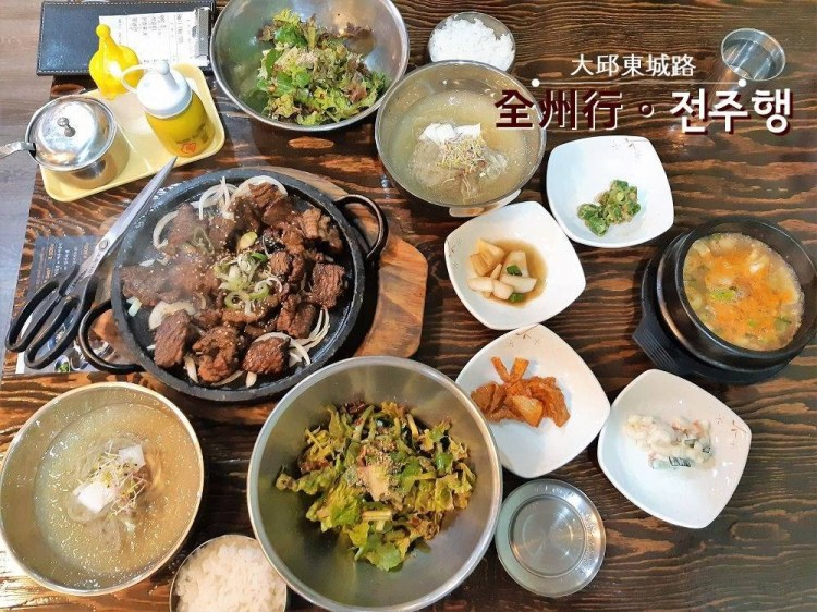 韓國旅行 ▌大邱食記 東城路好吃的炭烤排骨餐廳全州行 전주행《妮妮專欄》