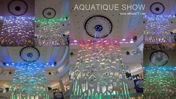│遊記│韓國五輯。釜山|南浦洞站 ♥ 樂天百貨水舞秀AQUATIQUE Show照片+影音
