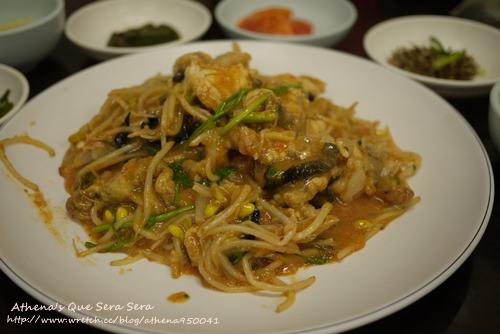 │韓國│釜山食記:물꽁식당炒安康魚아구찜+札嘎其市場 / 國際市場