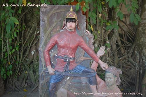 泰國 ▌樹中廟(Wat Bang Kung)+泰拳公園/一日遊行程