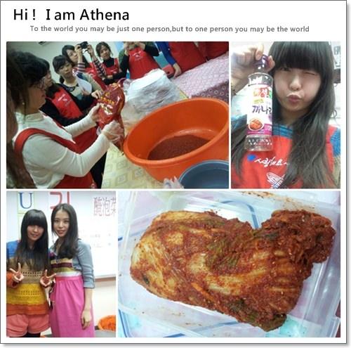 │韓文課日記│台北韓國UPI學院X文化課程。泡菜體驗❤