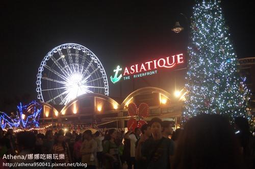 泰國 ▌曼谷自由行 : 河邊夜市Asiatique The Riverfront美翻天又好逛 推