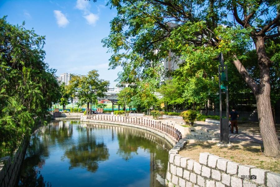  高雄景點 曹公圳生態公園,漫步河邊沿途欣賞鳳山縣城周邊景色
