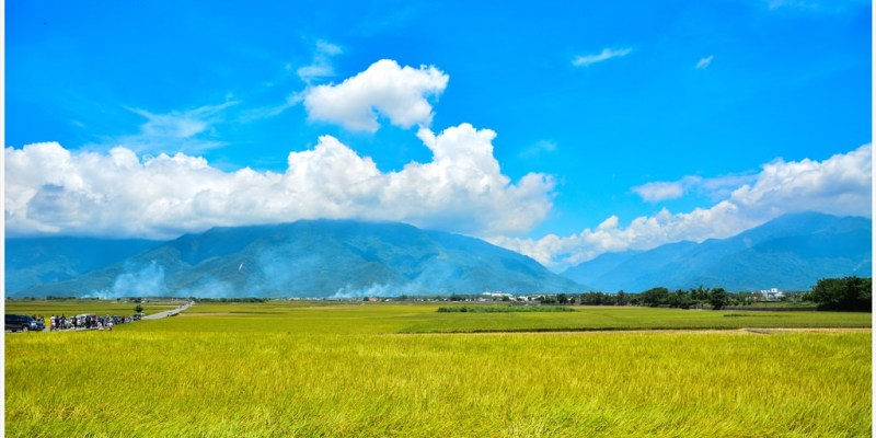 Hualien 花蓮‧富里 眺望花東縱谷,讓人感到心曠神怡的六十石山