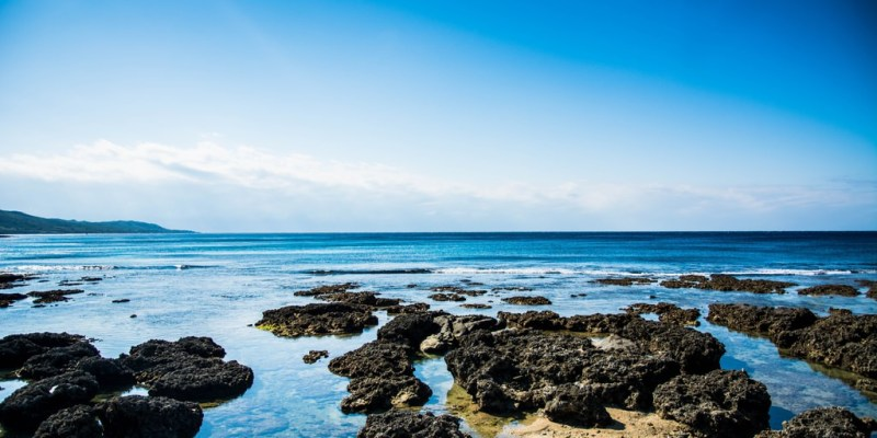  屏東景點 藍色海洋,心遺留的地方,萬里桐