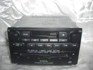 0406 Kia Amanti Oem 6 Disc Cd Cassette Stereo 961903F100
