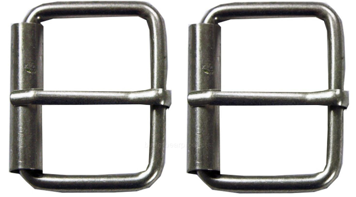 2x Single Prong Roller Replacement Belt Buckle Quality