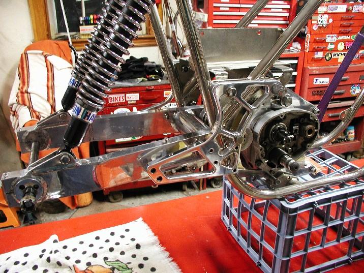 rear of nickel bike
