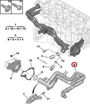 Fiesta V phase 2 14 tdci fuite liquide de refroidissement  Ford  Mécanique  Électronique