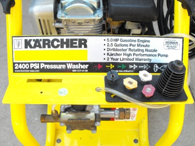 2400 Psi Honda 5 0 Pressure Washer Manual