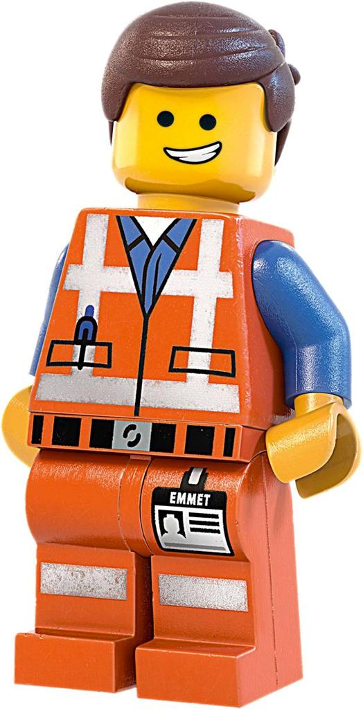 details about emmet lego movie decal removable wall sticker home decor