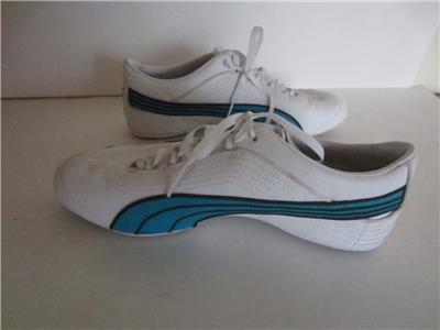 PUMA Eco Ortholite Running Shoes Sneakers White ...