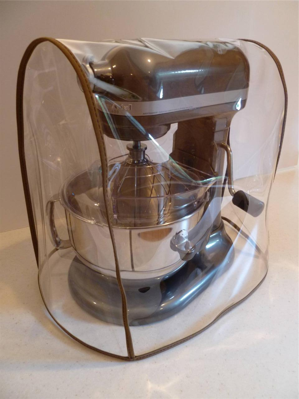CLEAR MIXER COVER Fits KitchenAid Bowl Lift Mixer COCOA