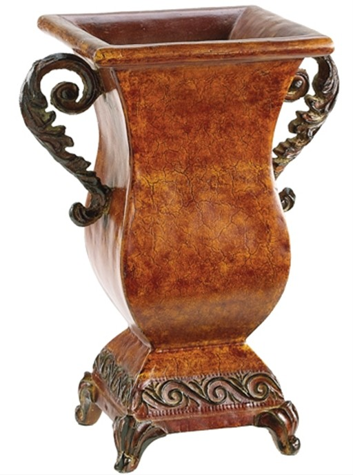 Find this Tuscan urn at Designer Silk Trees and Home Decor