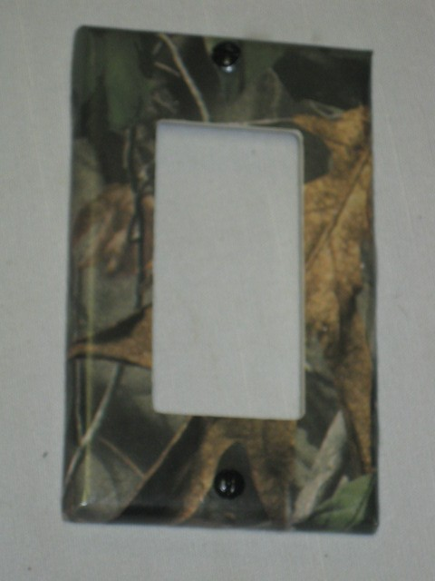 Light Switch Cover Plates Single Shabby Chic Decor