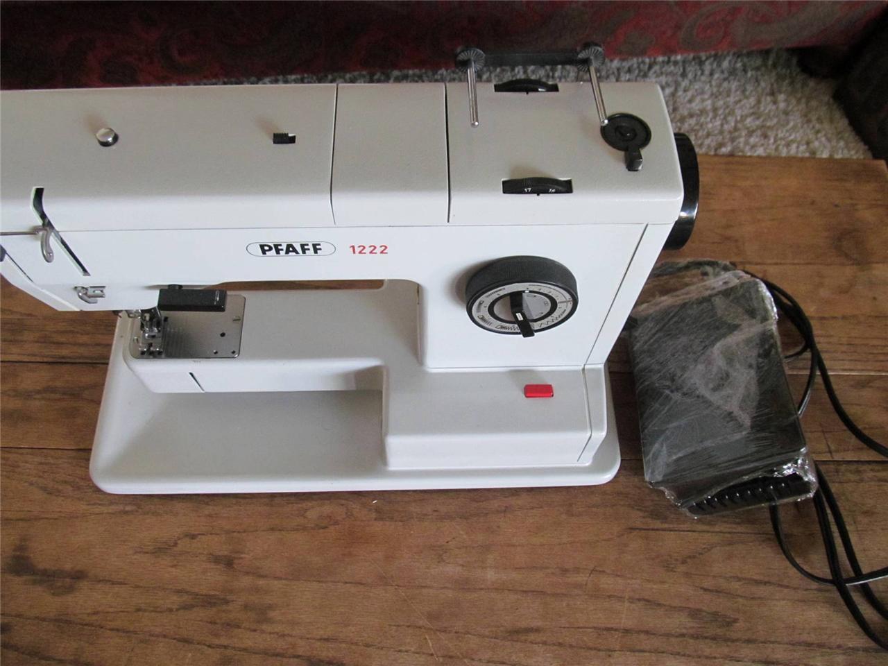 Pfaff Walking Foot Heavy Perfect Stitch Sewing Machine German Rebuilt