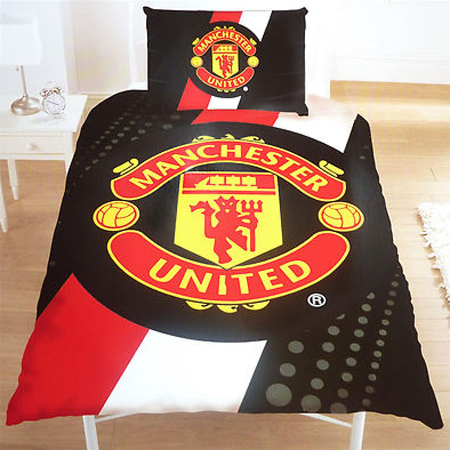 Football Club Single Duvet Cover Bedding Sets