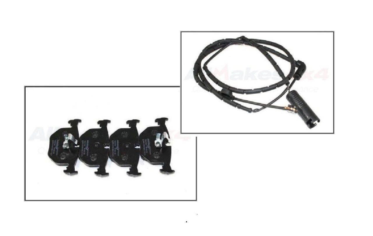 Land Rover Range 03 05 Rear Brake Pad Amp Sensor Set