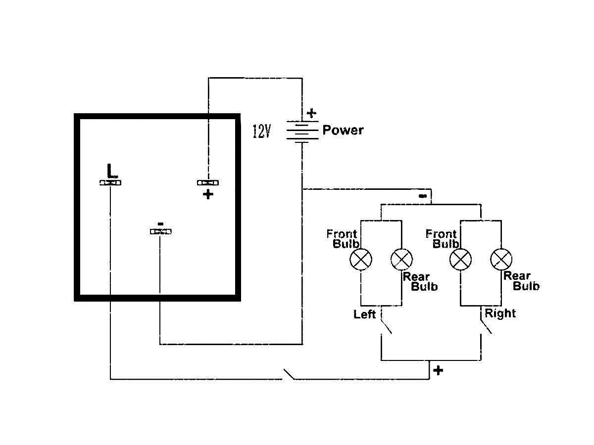 3 Pin Ep28 Led Electronic Flasher Relay Fix Turn Signal