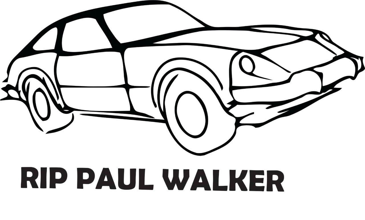 Paul Walker Decal
