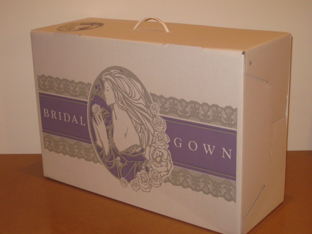 Wedding Dress Storage Box, Bridal Preservation Gown Box