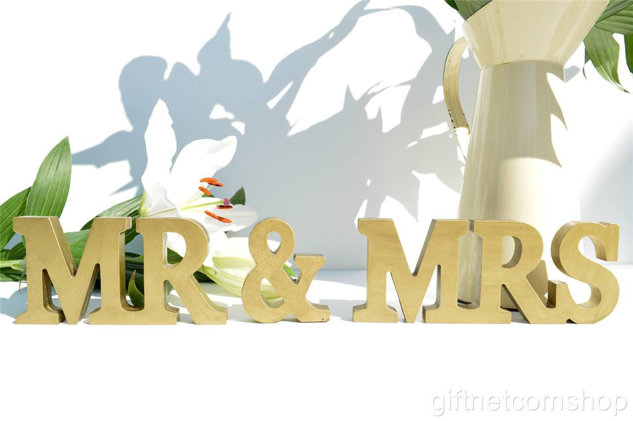 Mr & Mrs Letters Mr & Mrs Sign Mr And Mrs Letters Wedding