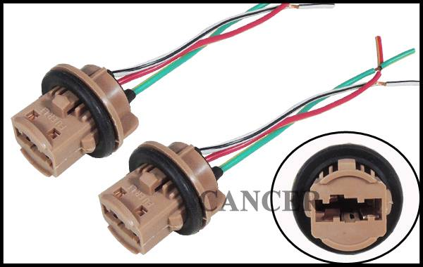 2pcs 7443 7440 992A 7443R T20 LED Bulb Brake Signal Light