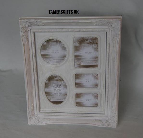 Distressed Off White Cream Collage Picture Photo Frames 4 X 6 5 X 7 8 X 10 EBay