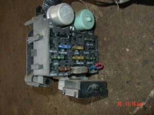 87 Jeep wrangler wiring harness under dash fuse block | eBay