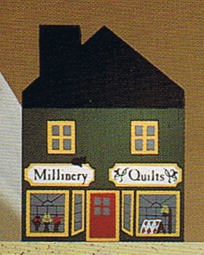 Millinary/Quilt Shop-Cats Meow Village