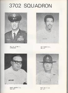 1974 Air Force Training Center Yearbook Sq 3702 Lackland