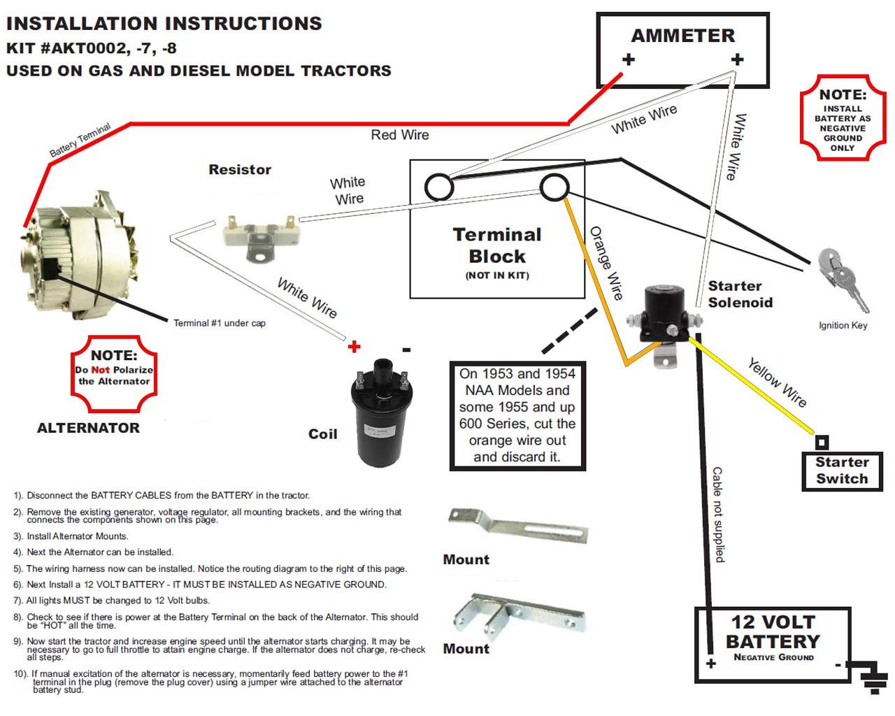 Ferguson To 20 12 Volt Conversion Wiring Diagram