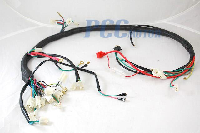 chinese gy6 150cc wire harness wiring assembly scooter moped