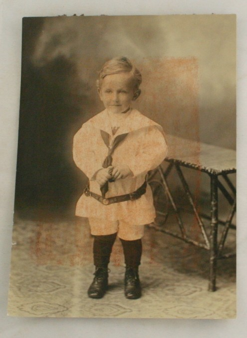 early photograph, portrait,child in sailor suit